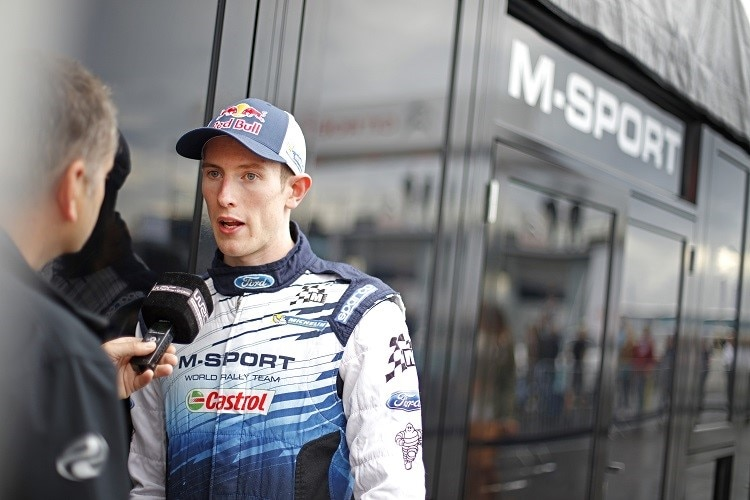 Elfyn Evans im Interview (M-Sport)