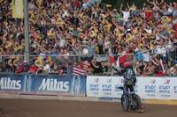 2016 begeisterte Kroner die Fans mit seinem Einsatz im Teterow-GP