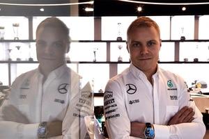 Der neue Mercedes-Pilot Valtteri Bottas