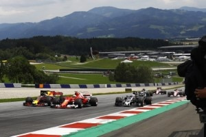 Formel-1-Sport in einmaliger Kulisse: Action am Red Bull Ring