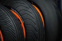 Die Michelin-MotoGP-Reifen bei Repsol-Honda 2008