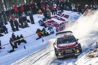 Kris Meeke im Citroën C3 WRC in Schweden