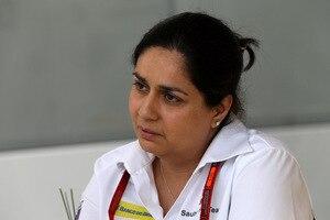Monisha Kaltenborn: «Wir hatten von Anfang an schwierige Voraussetzungen mit den Startpositionen»