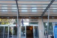 In der Bufalini-Klinik kämpfen die Ärzte um das Leben von Nicky Hayden