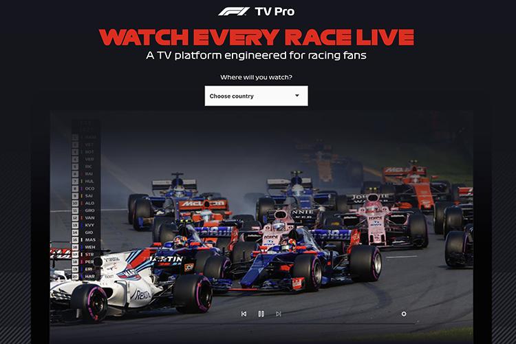 Formel 1 online mit F1 TV: Weitere Blamage verboten/Formel 1
