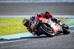 Wird Chaz Davies auch noch eine V4-Ära bei Ducati erleben? 2019 könnte es bereits soweit sein