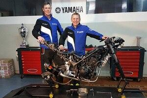 Das Team Freudenberg ist in der Superstock 300 das offizielle Team für Yamaha Motor Deutschland