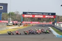 Superbike-WM-Start in Buriram 2017: Johnny Rea in Führung