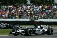 Patrick Friesacher in Indy 2005