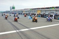 Start der World GP Bike Legenden