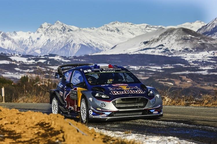 WRC 2017, Rally Monte-Carlo: vince Ogier
