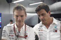 James Allison und Toto Wolff