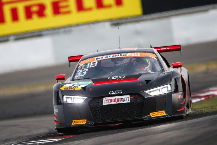 Souveraner Sieg Fur Audi R8 Lms Auf Dem Nurburgring Adac Gt Masters