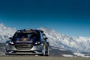 Sébastien Ogier im Ford Fiesta WRC von M-Sport
