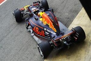 Der neue Red Bull Racing RB13 von oben