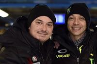 Uccio mit seinem Kumpel Valentino Rossi