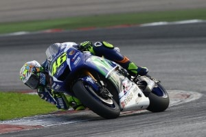 Valentino Rossi in Sepang