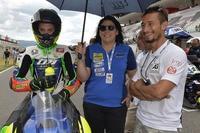 Bruno Ieraci mit seinem Riding Coach und Mentor Manuel Poggiali