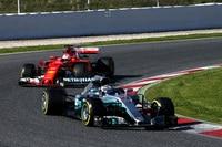 Mercedes und Ferrari waren am meisten auf der Bahn