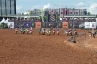 Start zum MX2-Qualifikationsrennen in Palembang
