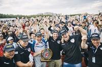 Sieger Yoshihide Muroya wurde von den Fans in Chiba frenetisch gefeiert
