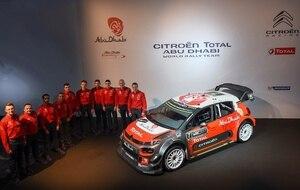 Das Citroën-Team 2017
