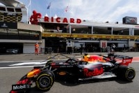 Max Verstappen in Paul Ricard