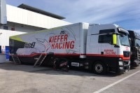 Der Truck des Kiefer Racing Teams
