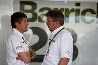 Nick Fry und Ross Brawn in der Saison 2009