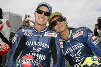 Edwards 2005 als Yamaha-Teamkollegen von Valentino Rossi