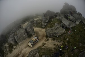 Henning Solberg/Ilka Minor bei der Rallye Portugal