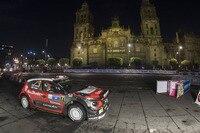 Nur ein Teil-Erfolg – Super-WP im Zentrum von Mexiko-Stadt, im Foto Sieger Kris Meeke