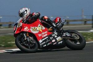 Glenn Irwin auf der Werks-Ducati-Panigale aus der BSB