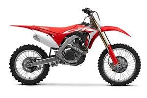 Nun mit Elektrostarter, aber ohne Kick: An einem Motocross-Motorrad sicher eine berechtigte Entwicklung