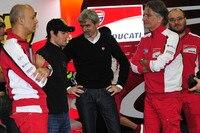 November-Test in Valencia: Crew-Chief Romagnoli, Crutchlow, Dall'Igna und Ciabatti