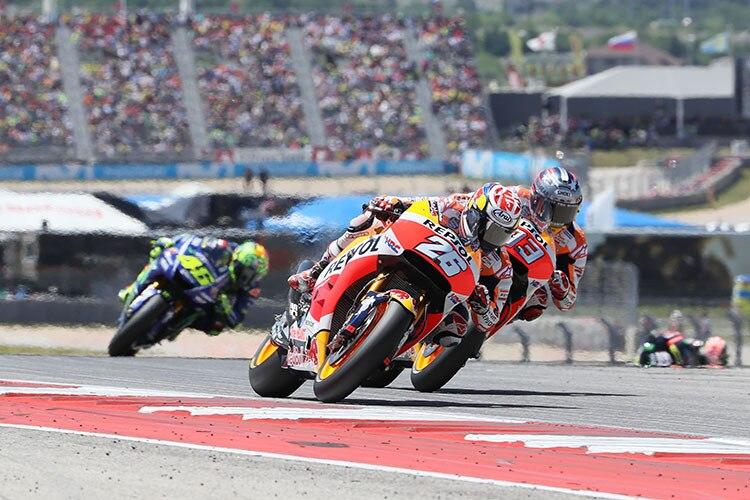 Dani Pedrosa (3.): «Hätte schneller fahren können»/MotoGP SPEEDWEEK