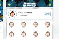 77 Emojis stehen zur Verfügung