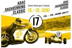 Die ADAC Sachsenring Classic präsentiert sich mit neuem Markendesign