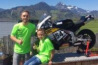 Jonas Folger mit dem 10-jährigen Niklas Kitzbichler