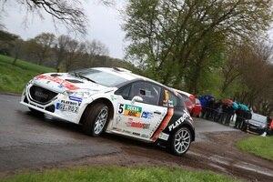 Philipp Knof im Peugeot 208 T16 R5