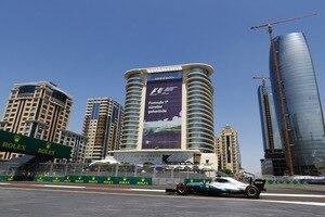 Lewis Hamilton kam im zweiten freien Training nicht auf Touren
