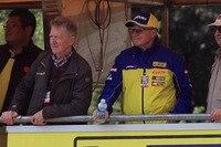 Sylvain Geboers verfolgt die Rennen von der Box aus