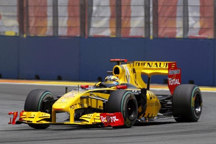 Kubica absolviert wieder Formel-1-Test für Renault