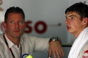 Max Verstappen mit Vater Jos