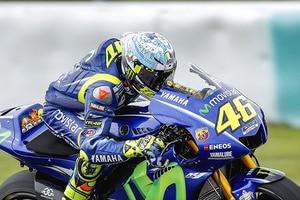 Valentino Rossi beim MotoGP-Test in Sepang