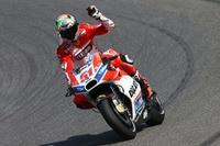 Michele Pirro wurde im Rennen Neunter