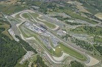 Der Mugello-Circuit: Mehr als 100.000 Zuschauer am Renntag