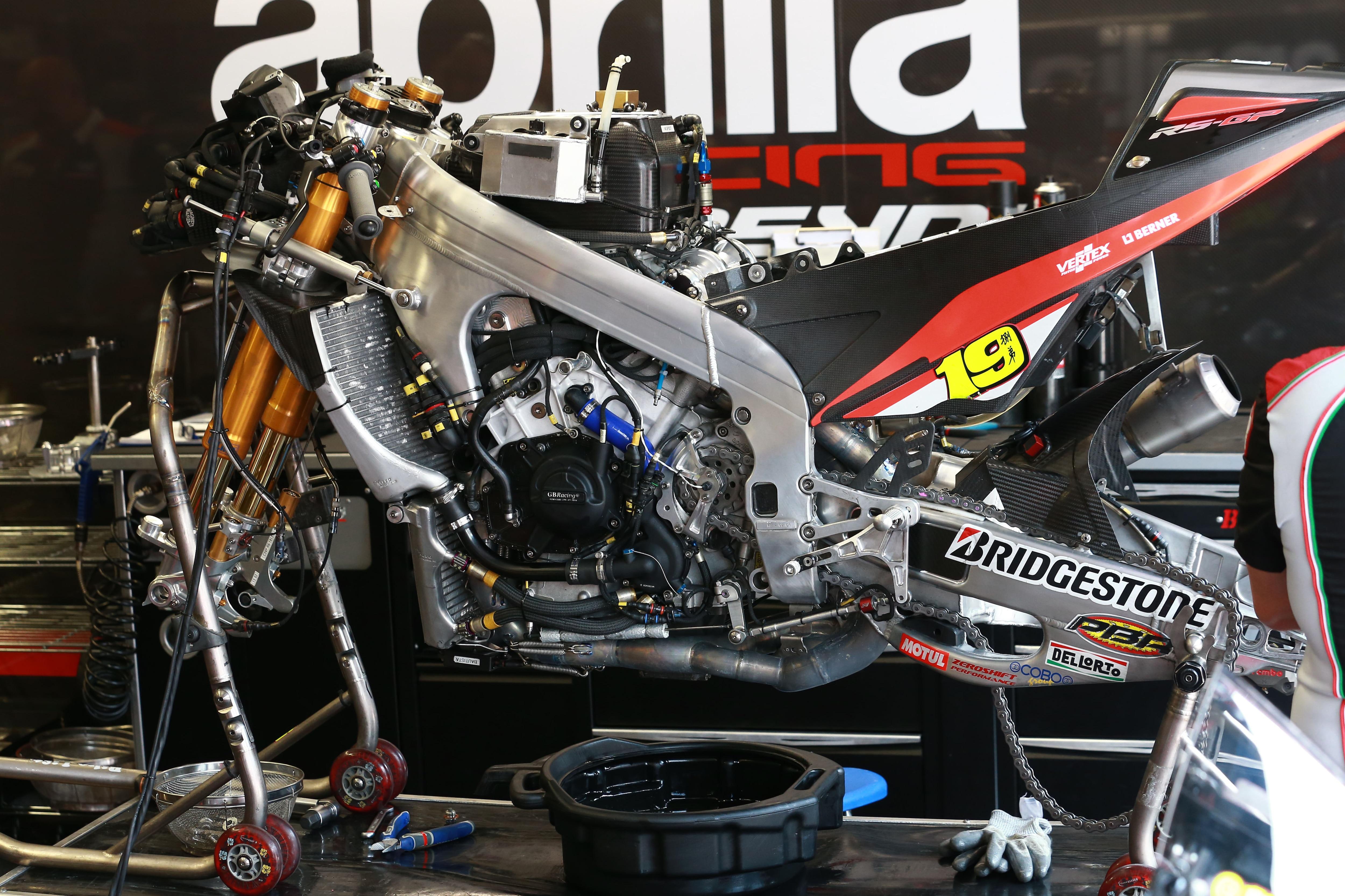 Aprilia: Neuer Motor Ende November auf dem Prüfstand/MotoGP SPEEDWEEK