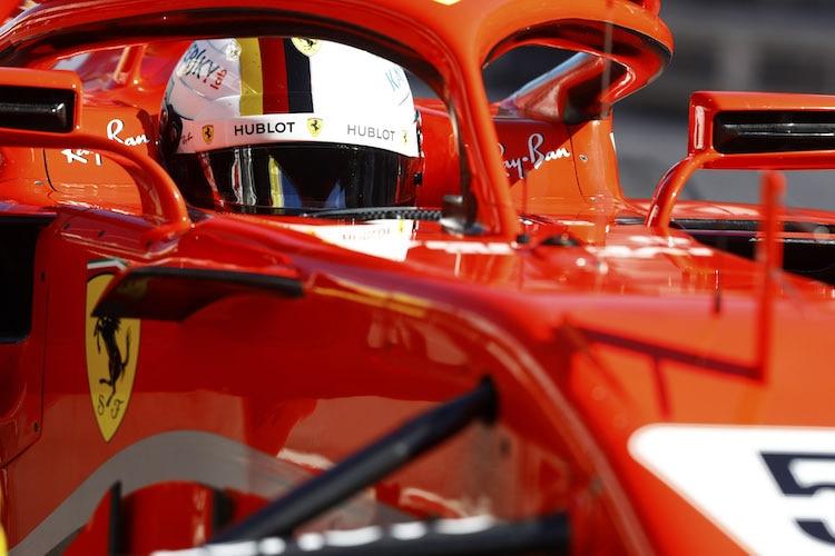 Vettel Schnellster bei F1-Test in Barcelona