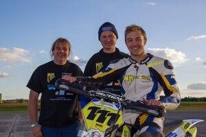 Markus Class (re) mit Jochen Jasinski und Marcus Haas